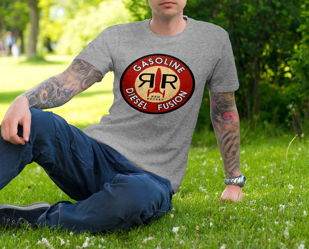 Red Rocket Logo T-Shirt