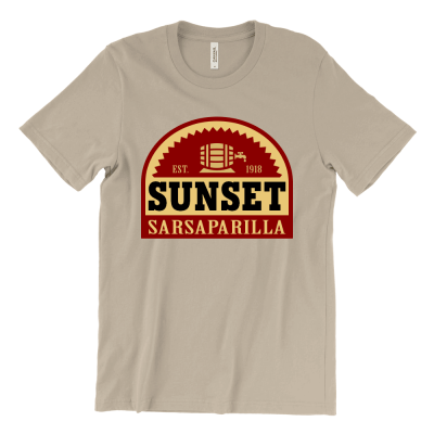 Sunset Sarsaparilla Logo T-Shirt | Fallout New Vegas
