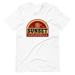 Sunset Sarsaparilla T-Shirt