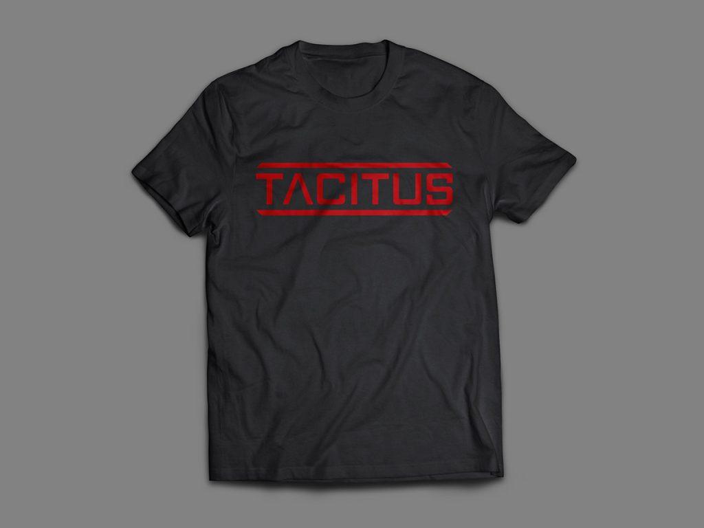 Tacitus Corporation Logo T-Shirt