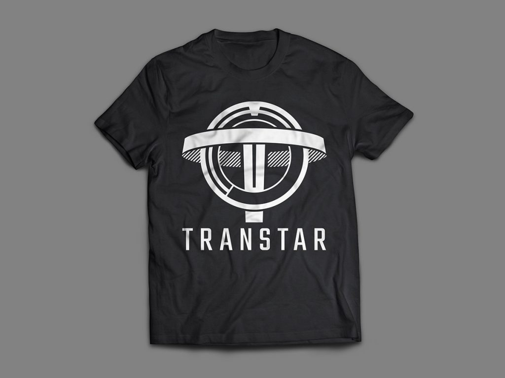 transtar corporation logo tshirt