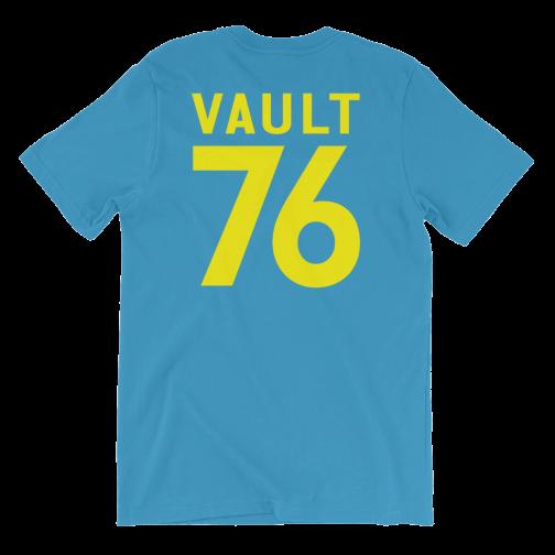Fallout Vault 76 T-Shirt   Blue