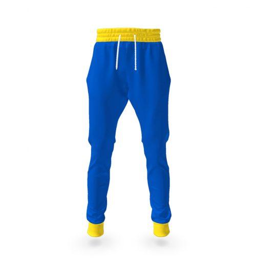 Vault Suit Pants - Vault Boy Cosplay - Front View