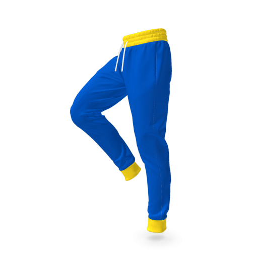 Vault Suit Pants - Vault Boy Cosplay - Side View