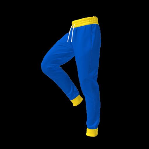 Vault Suit Pants - Vault Boy Cosplay - Side View