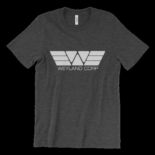 Weyland Corp silver logo T-Shirt