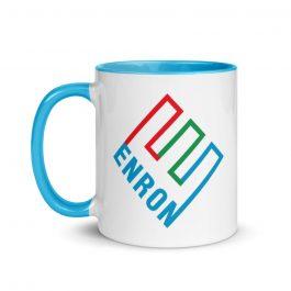 Enron Blue Accent Mug